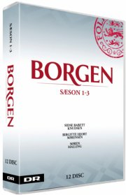 borgen sæson 1-3 - DVD