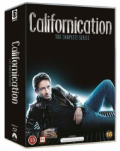 californication box - komplet - sæson 1-7 - Blu-Ray