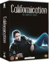 californication box - komplet - sæson 1-7 - DVD