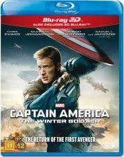captain america 2 - the winter soldier - 3D Blu-Ray