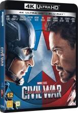 captain america 3 - civil war - 4k Ultra HD Blu-Ray