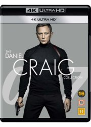 casino royale // skyfall // spectre // quantum of solace - the daniel craig collection  - 4k Ultra HD Blu-Ray