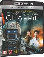 chappie - 4k Ultra HD Blu-Ray