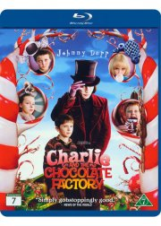 charlie og chokoladefabrikken / charlie and the chocolate factory - Blu-Ray