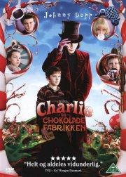 charlie og chokoladefabrikken / charlie and the chocolate factory - DVD