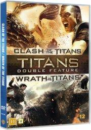 clash of the titans // wrath of the titans - DVD