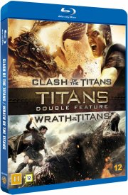 clash of the titans // wrath of the titans - Blu-Ray