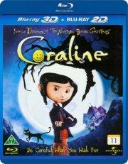 coraline - 3D Blu-Ray