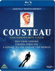 jacques cousteau: den tavse verden // verden uden sol // a voyage to the end of the world - Blu-Ray