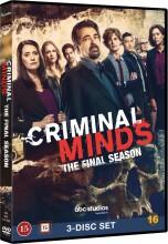 criminal minds - sæson 15 - DVD