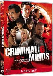 criminal minds - sæson 6 - DVD