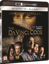 da vinci mysteriet / the da vinci code - 4k Ultra HD Blu-Ray
