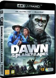 dawn of the planet of the apes / abernes planet: revolutionen - 4k Ultra HD Blu-Ray