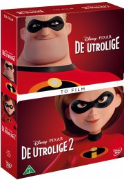 de utrolige 1-2 / the incredibles 1-2 - disney pixar - DVD