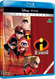 de utrolige 1 / the incredibles 1 - disney pixar - Blu-Ray