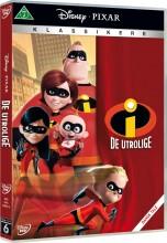de utrolige 1 / the incredibles 1 - disney pixar - DVD
