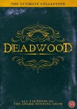 deadwood - den komplette serie - sæson 1-3 - hbo - DVD