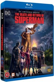 the death & return of superman - Blu-Ray