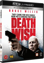 death wish - en mand ser rødt - 4k Ultra HD Blu-Ray