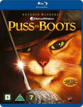 den bestøvlede kat / puss in boots  - Blu-Ray