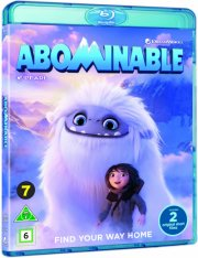 den lille afskyelige snemand / abominable - 2019 - Blu-Ray