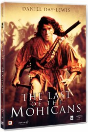 the last of the mohicans / den sidste mohikaner - DVD