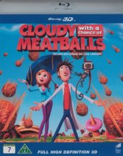 det regner med frikadeller / cloudy with a chance of meatballs - 3D Blu-Ray