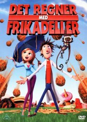 det regner med frikadeller / cloudy with a chance of meatballs - DVD