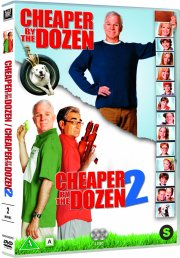 det vilde dusin 1-2 / cheaper by the dozen 1-2 - DVD
