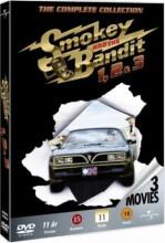 smokey and the bandit 1-3 / det vilde ræs 1-3 - box - DVD