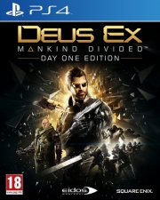 deus ex: mankind divided - PS4