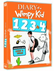 diary of a wimpy kid 1-4 - DVD