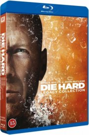 die hard 1 // 2 // 3 // 4 // 5 - boks - Blu-Ray