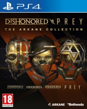 dishonored and prey: the arkane collection - PS4