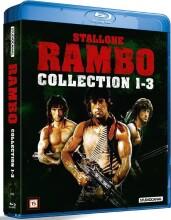 rambo collection 1-3 - Blu-Ray