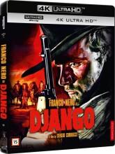 django - vestens hævner - 1966 - franco nero - 4k Ultra HD Blu-Ray