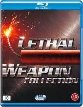 dødbringende våben boks / lethal weapon box 1-4 - Blu-Ray