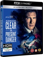 dødens karteller / clear and present danger - 4k Ultra HD Blu-Ray