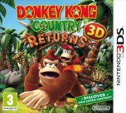 donkey kong country returns 3d (select) - nintendo 3ds