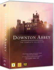 downton abbey - den komplette serie + christmas special - DVD