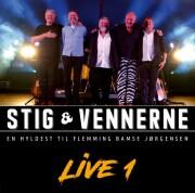stig & vennerne - en hyldest til flemming bamse jørgensen - live 1 - cd
