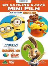en samling sjove mini film - DVD