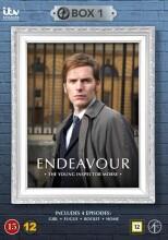 endeavour - den unge morse - boks 1 - DVD