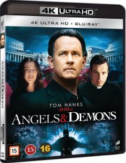 engle og dæmoner / angels and demons - 4k Ultra HD Blu-Ray