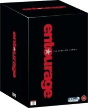 entourage box - den komplette serie - hbo - DVD