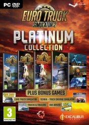 euro truck simulator 2 platinum collection - PC