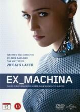 ex machina - 2015 - DVD