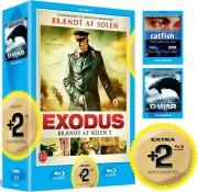 brændt af solen 2: exodus // catfish // d-war - Blu-Ray