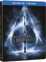 fantastiske skabninger 2 - grindelwalds forbrydelser / fantastic beasts 2 - the crimes of grindelwald - steelbook - 3D Blu-Ray