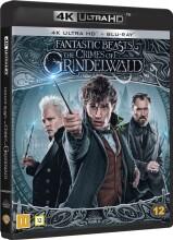 fantastiske skabninger 2 - grindelwalds forbrydelser / fantastic beasts 2 - the crimes of grindelwald - 4k Ultra HD Blu-Ray